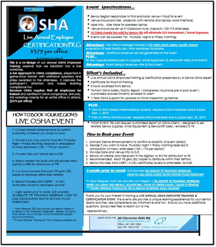 OSHA EMPLOYEE CERTIFICATION