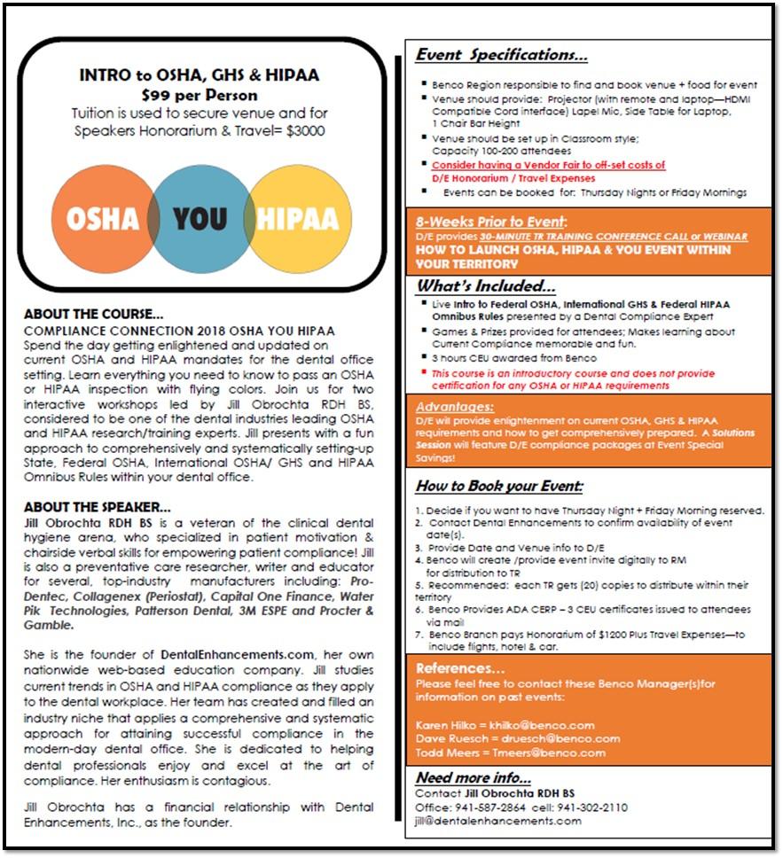 INTRO to OSHA, GHS & HIPAA Omnibus Rules