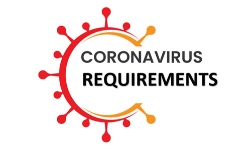 coronavirus requirements